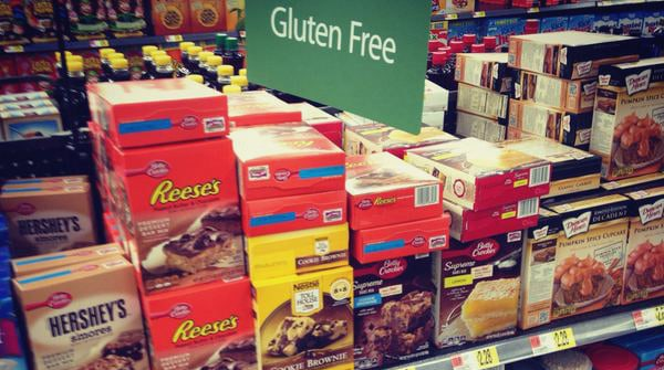 gluten free product shopping