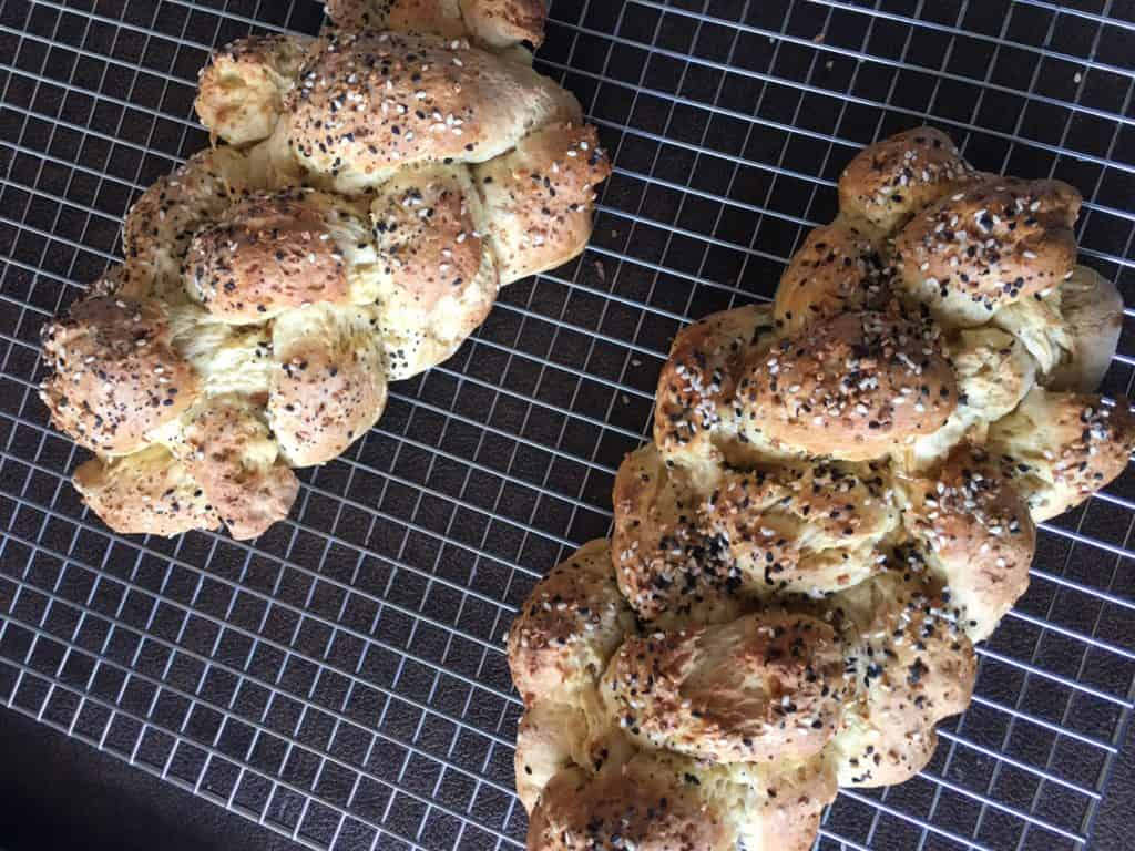 Reader Barbara S. sent this photo of her gluten-free challah made with my recipe and gfJules Flour.