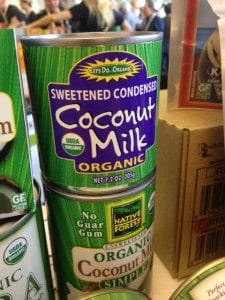 Sweetened Condensed Coconut Milk will make many recipes much easier!