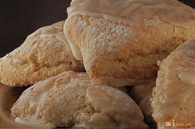 Gluten Free Maple Oat Scones